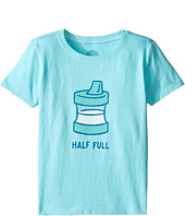 Life is Good Kids - Half Full Sippy Cup Tee (Toddler)