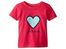 Life is good Kids - Heart Tee (Toddler)