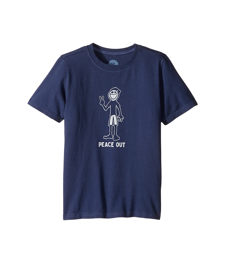 Life is Good Kids - Peace Out Crusher Tee