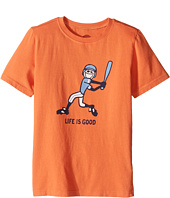 Life is Good Kids - Baseball Swing Crusher Tee (Little Kids/Big Kids)