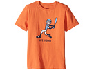 Life is good Kids - Baseball Swing Crusher Tee (Little Kids/Big Kids)