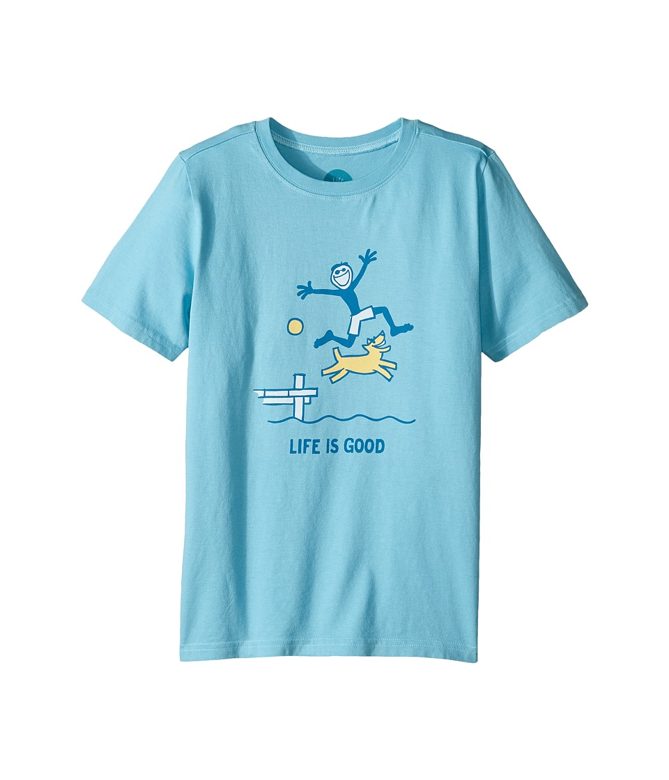 Life is Good Kids - Dock Jump Crusher Tee