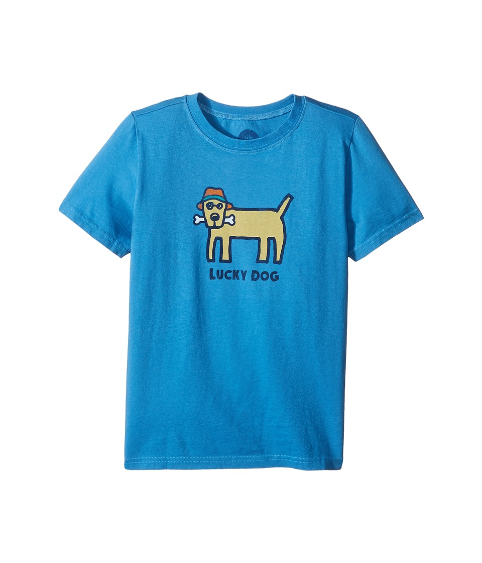 Life is Good Kids - Lucky Dog Crusher Tee