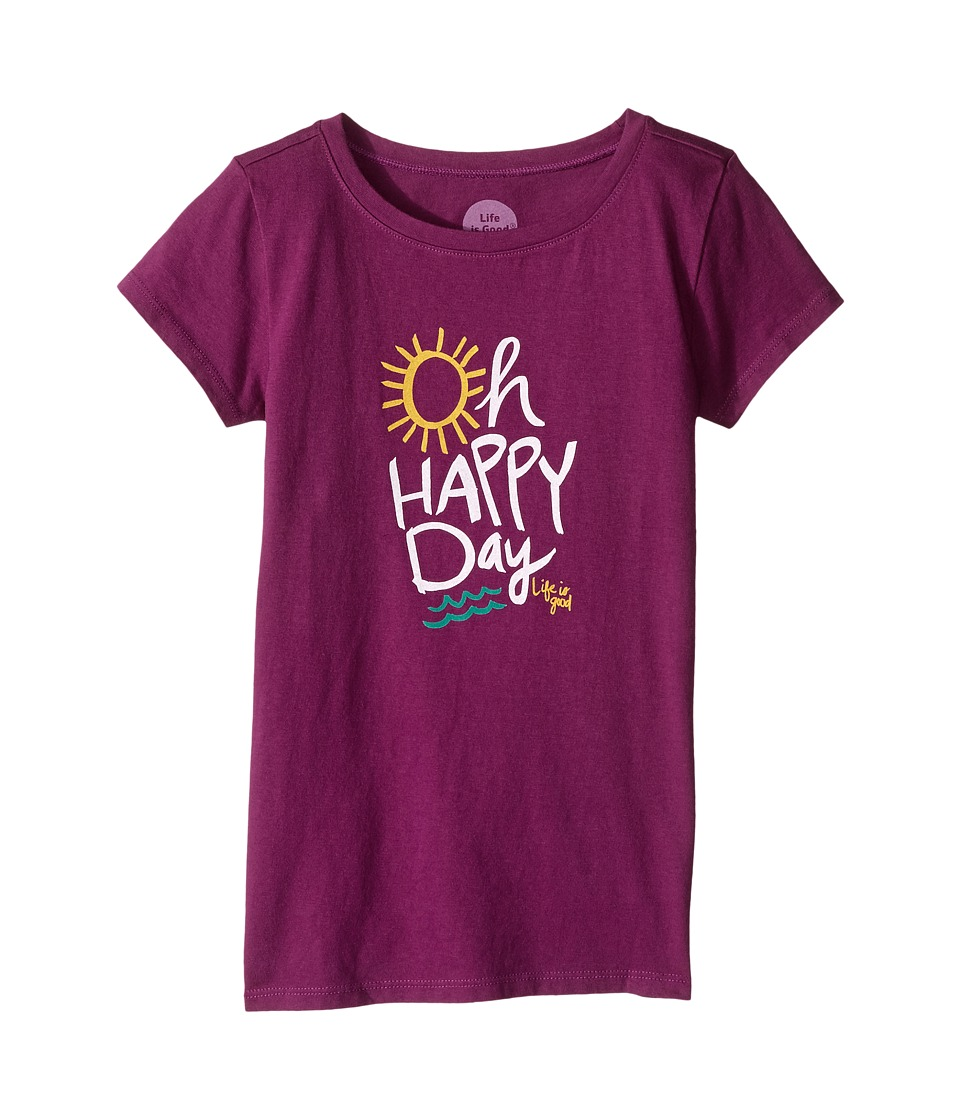 Life is Good Kids - Oh Happy Day Crusher Tee