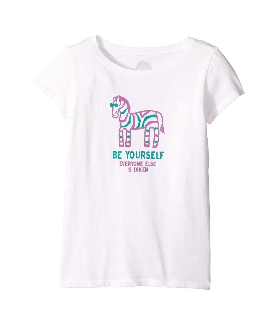 Life is Good Kids - Zebra Be Yourself Crusher Tee