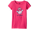 Life is good Kids - Silly Monkey Crusher Tee (Little Kids/Big Kids)