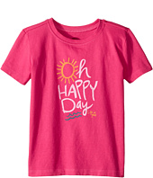 Life is Good Kids - Oh Happy Day Crusher Tee (Toddler)