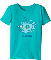 Life is Good Kids - Submarine Crusher Tee (Toddler)
