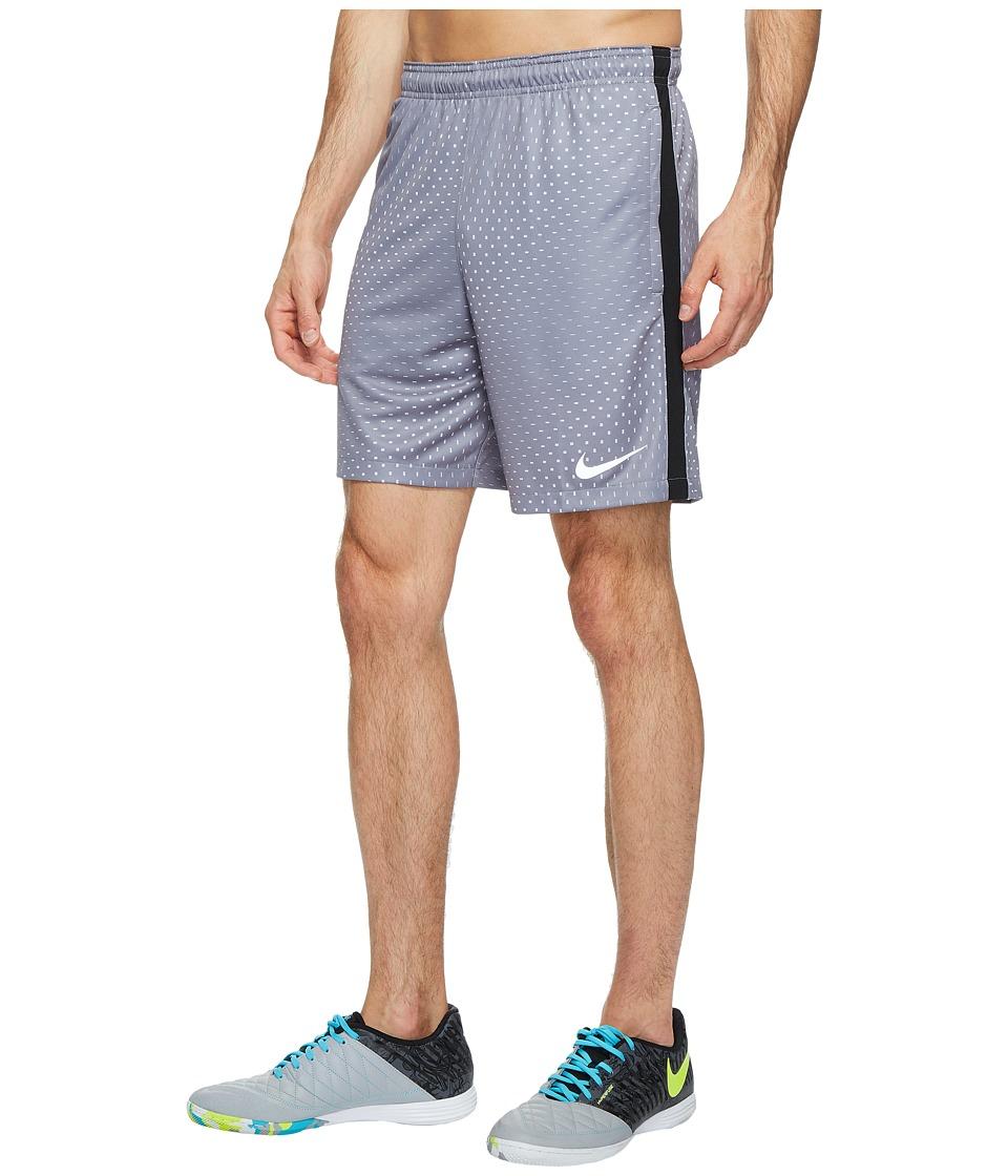 Nike Dry Squad Soccer Short (Pure Platinum/Cool Grey/Metallic Silver) Men