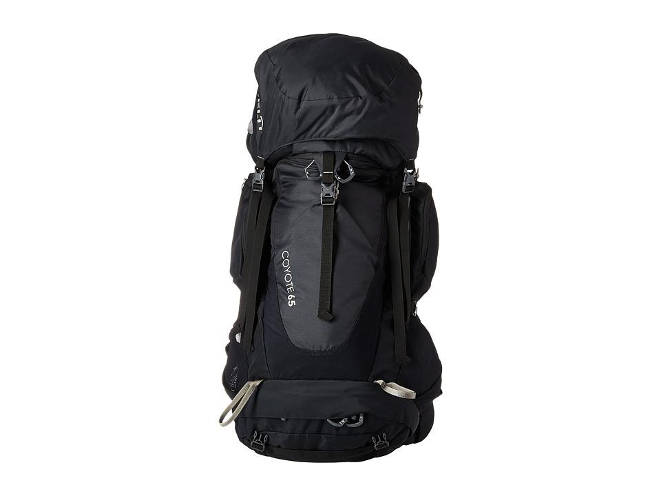 Kelty - Coyote 65 Backpack (Black) Backpack Bags