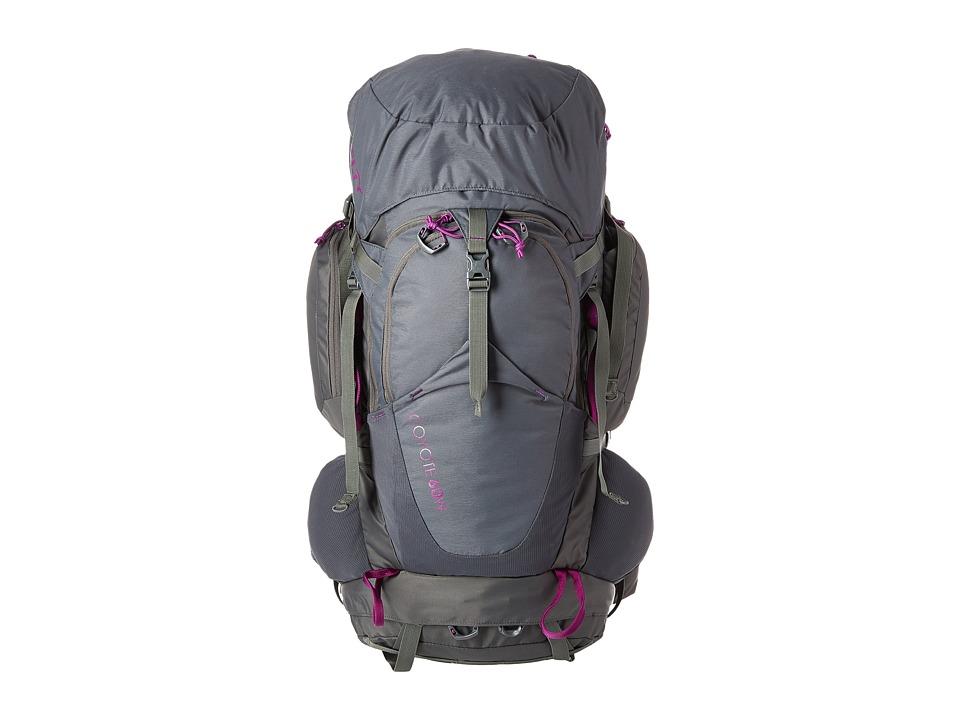 Kelty - Coyote 60 Womens Backpack (Dark Shadow) Backpack Bags