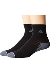 adidas - Superlite Speed Mesh 2-Pack Quarter Socks