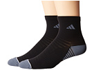 adidas Superlite Speed Mesh 2-Pack Quarter Socks