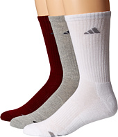 adidas - Cushioned Color 3-Pack Crew