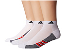 adidas Climacool(r) Superlite 3-Pack Low Cut Socks