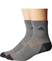 adidas - Superlite Speed Mesh 2-Pack Quarter Socks