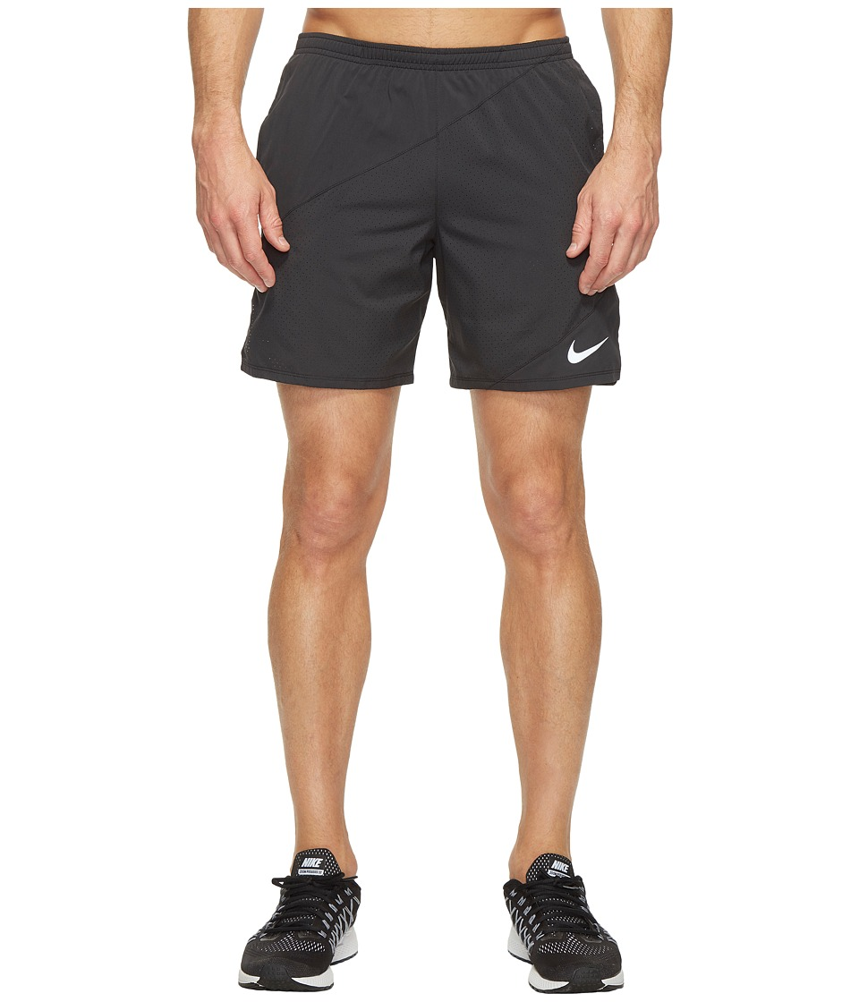 Nike Flex 7 Running Short (Black/Black) Men