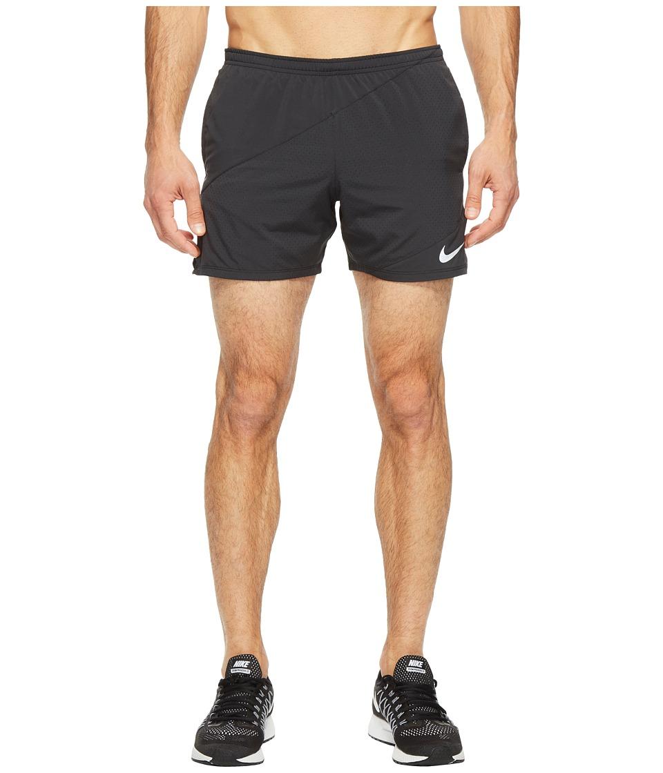 Nike - Flex 5 Running Short (Black/Black) Men's Shorts