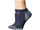 adidas Superlite Speed Mesh 2-Pack No Show Socks