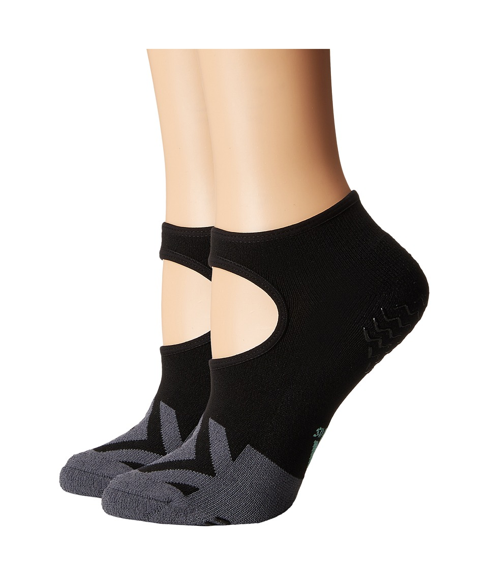 adidas - Studio II Super No Show Socks 2-Pack