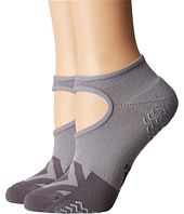 adidas - Studio II Super No Show Socks 2-Pack
