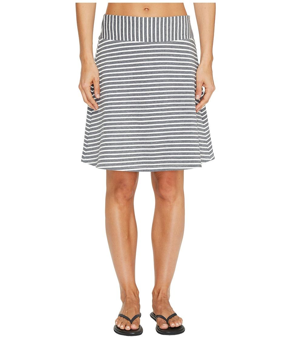 FIG Clothing Aby Skirt (Black Stripe) Women