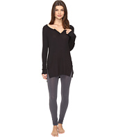 Yummie by Heather Thomson - 2x1 Rib Long Sleeve Top