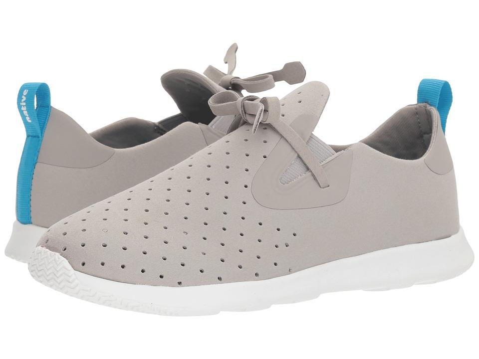 Native Kids Shoes Apollo Moc (Big Kid) (Pigeon Grey/Shell White) Kid's Shoes