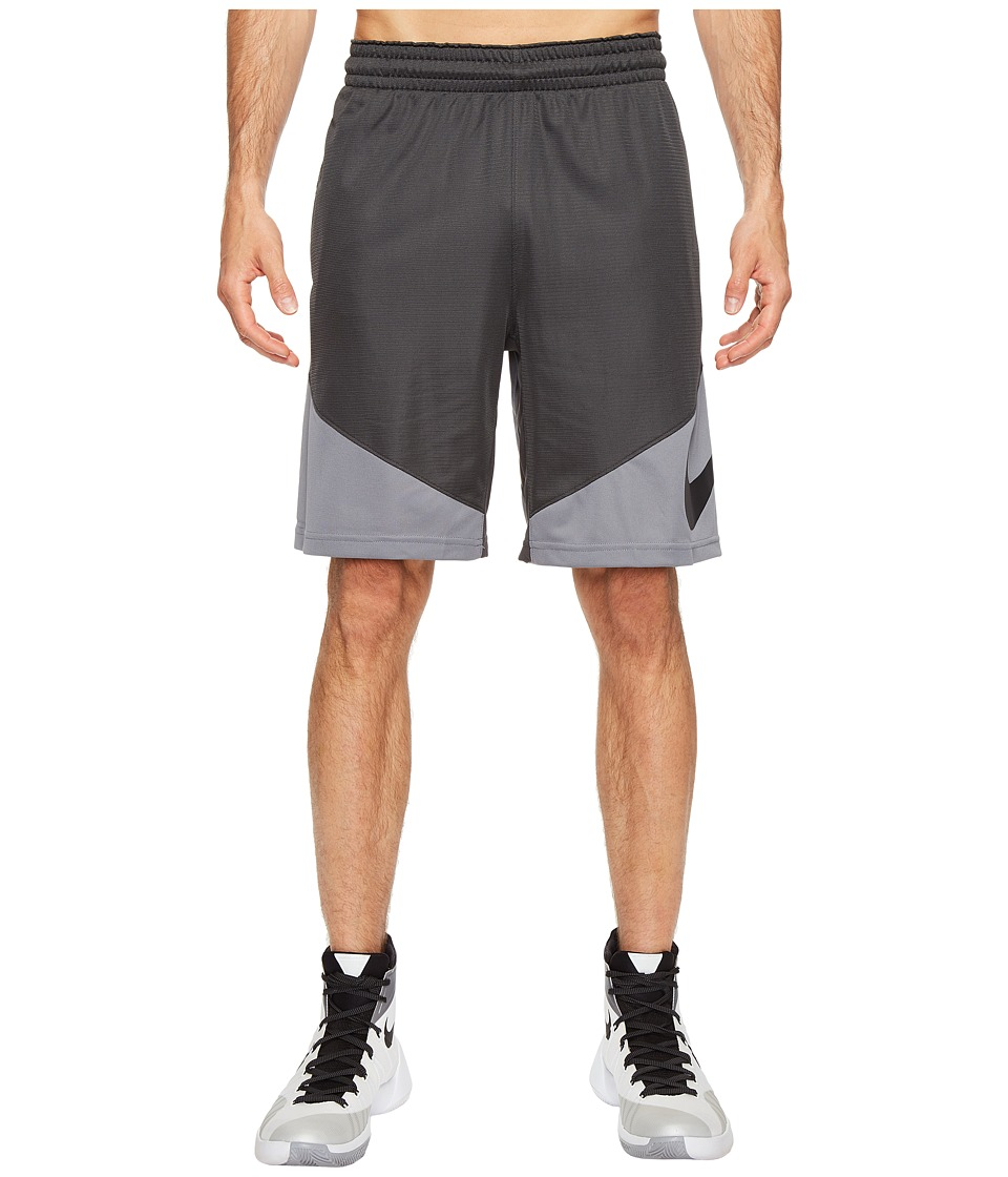Nike HBR Shorts (Anthracite/Cool Grey/Cool Grey/Black) Men