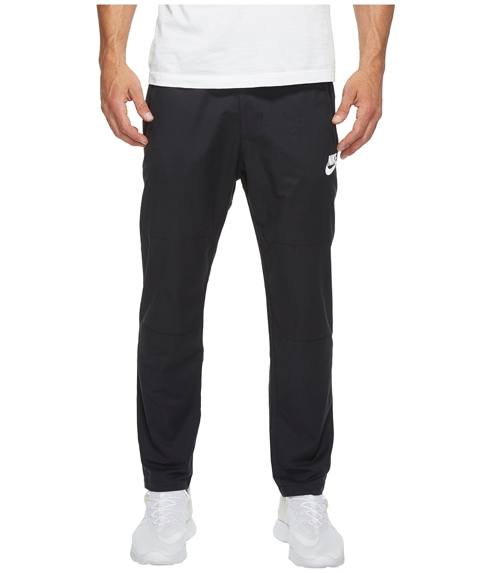 Nike Sportswear Advance 15 Woven Pant (Black/White) Men