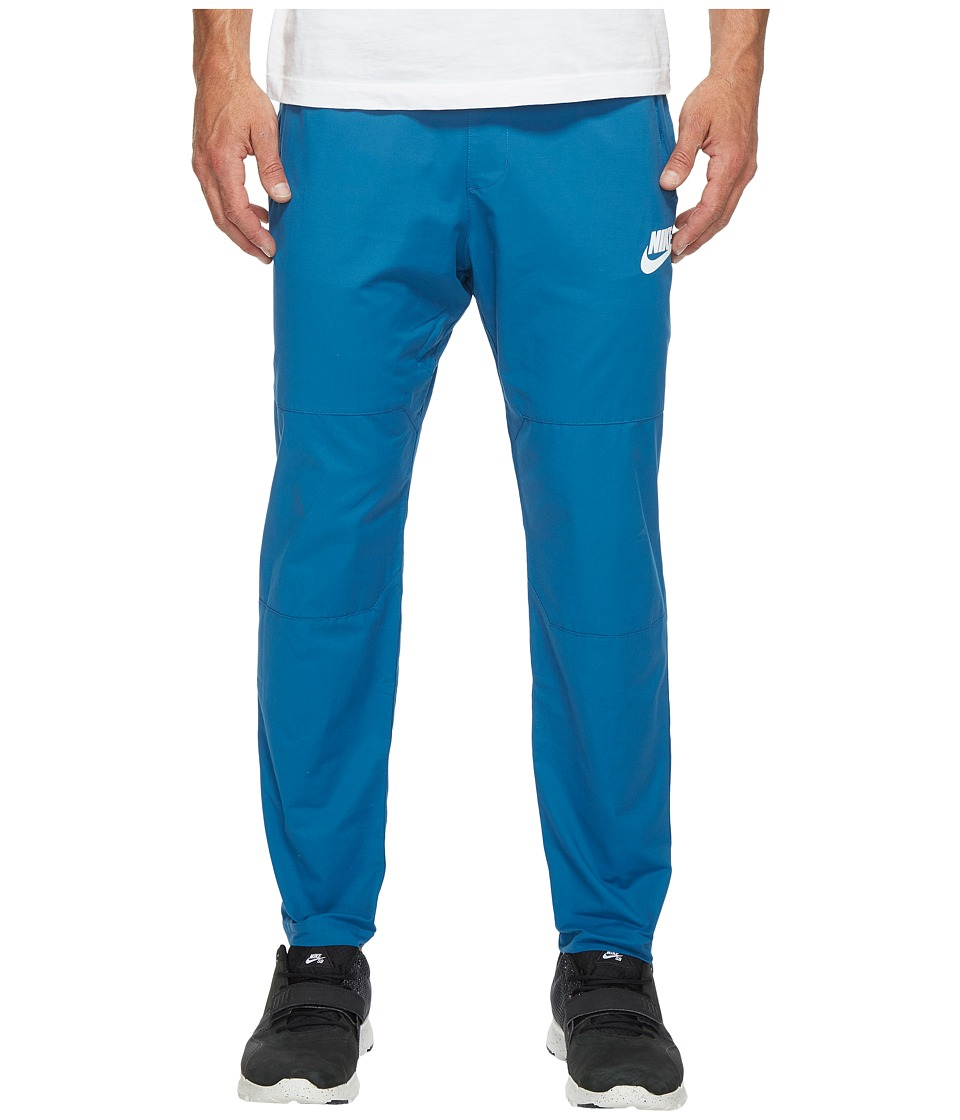 Nike Sportswear Advance 15 Woven Pant (Industrial Blue/White) Men