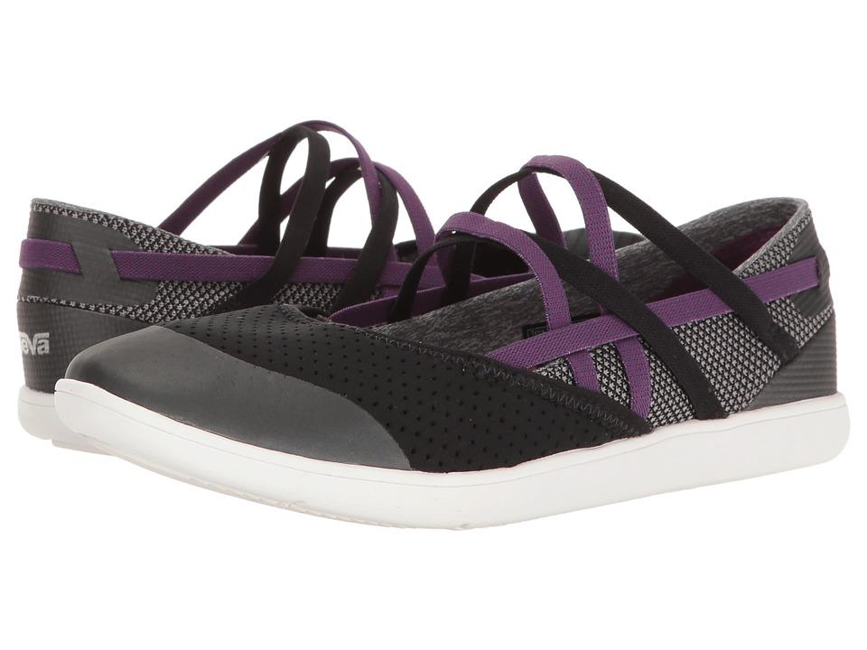Teva Hydro-Life Slip-On (Black) Women's Shoes