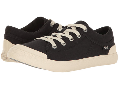 Teva Freewheel Washed Canvas - True Black