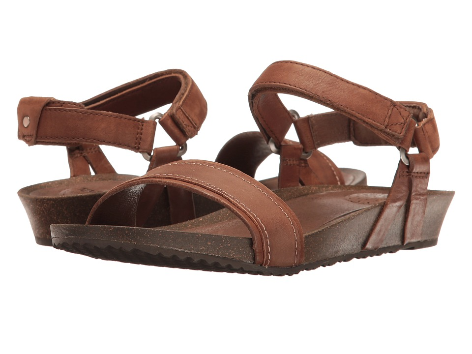 Teva Ysidro Stitch Sandal (Brown) Sandals