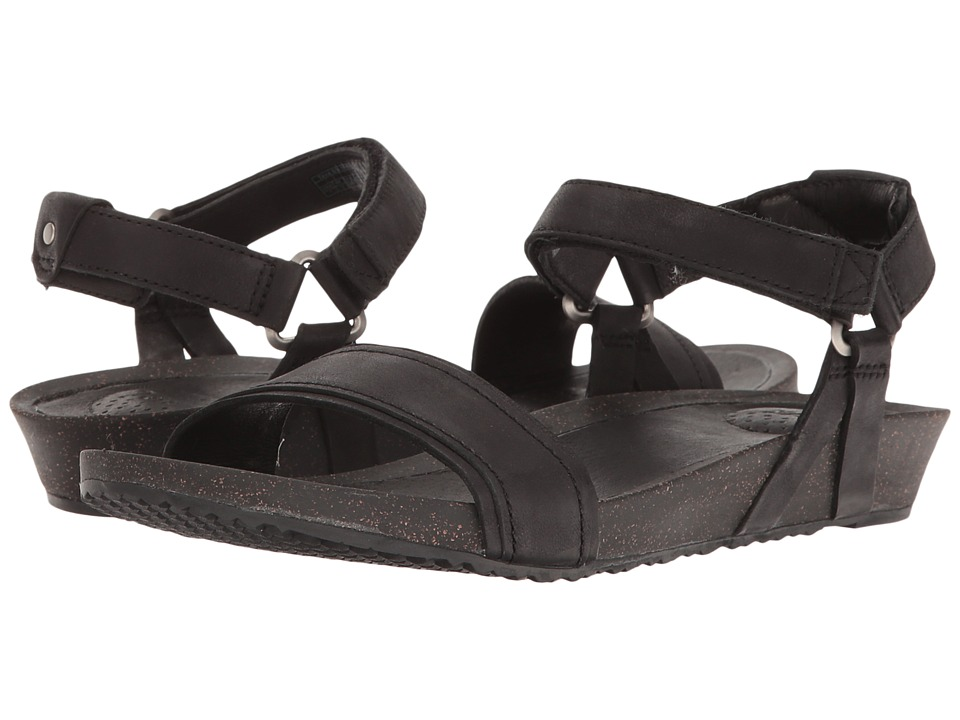 Teva Ysidro Stitch Sandal (Black) Sandals
