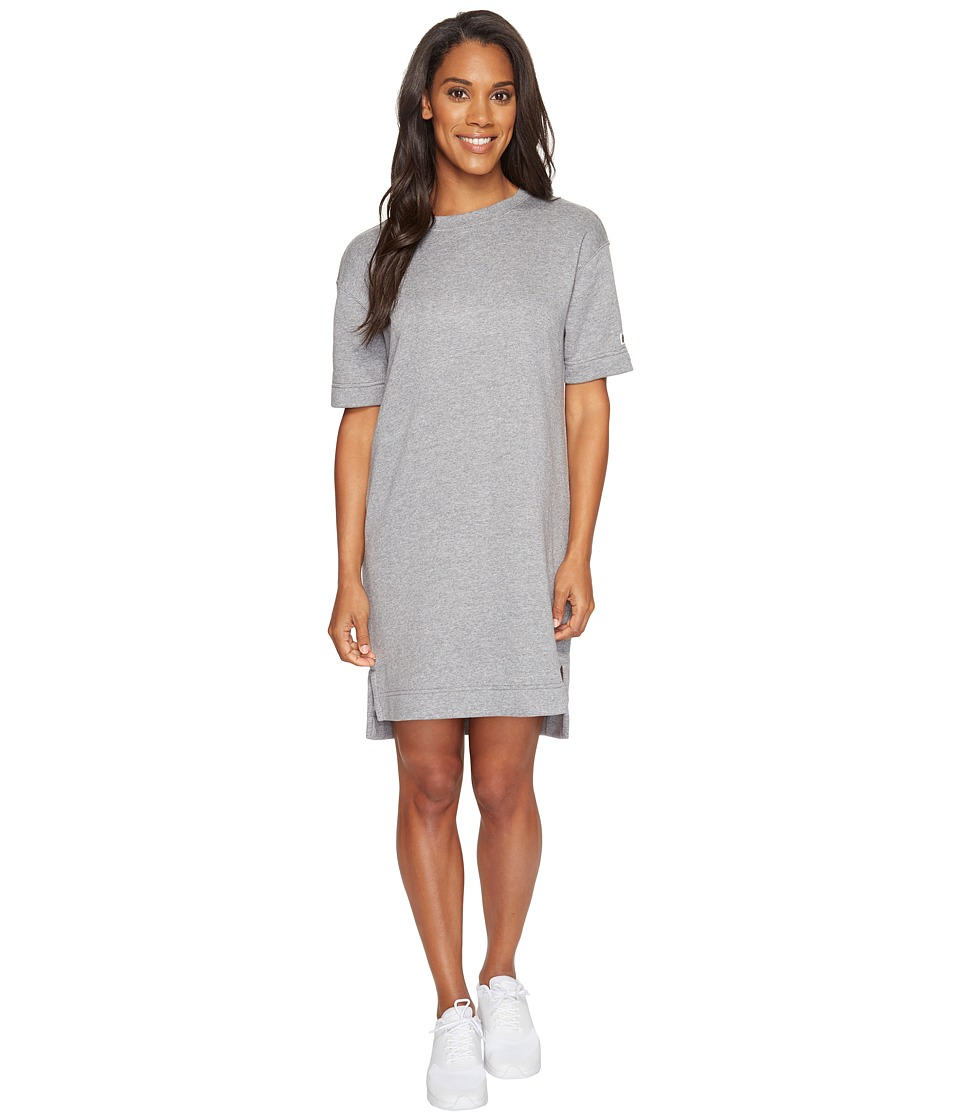 Nike Sportswear Modern Dress (Carbon Heather/Dark Grey) Women
