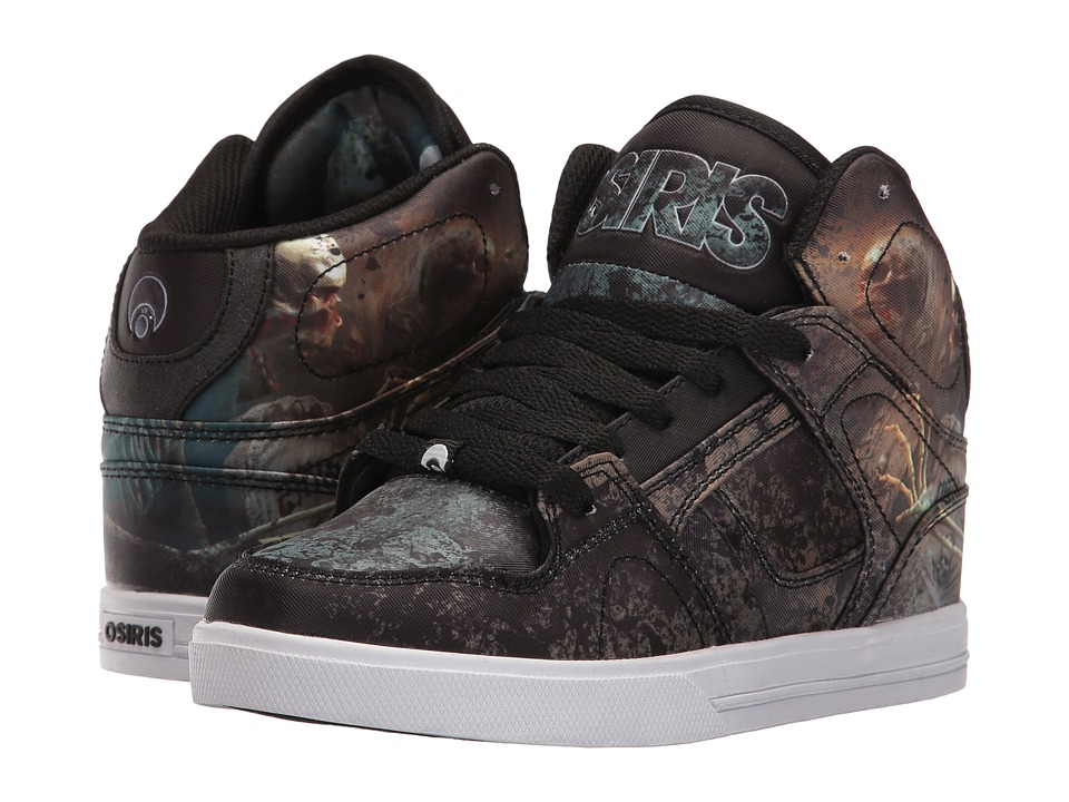 Osiris NYC83 VLC (Little Kid/Big Kid) (Huit/Skull/Army) Men