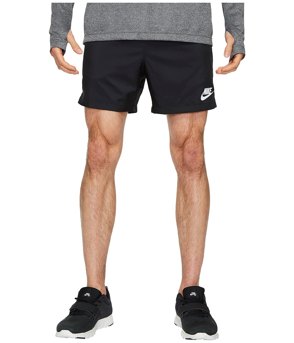Nike Woven Flow Short (Black/White/White) Men