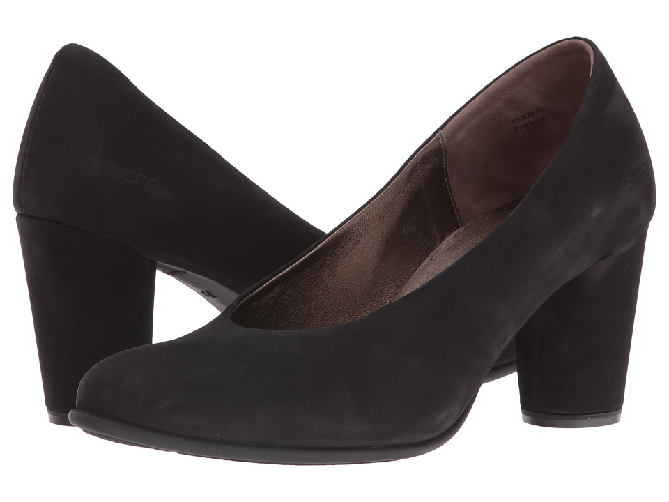 Arche Kloemi (Noir/Bronze) Women's Shoes