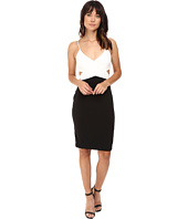 Badgley Mischka - Color Block Cut Out Stretch Dress