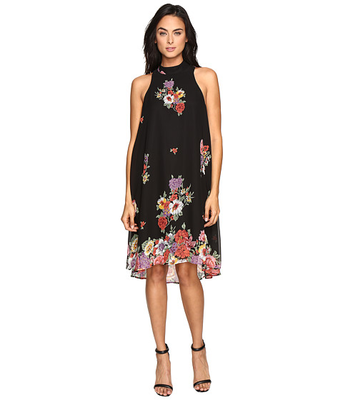 Show Me Your Mumu Verona V-Back Dress - Falling Florals