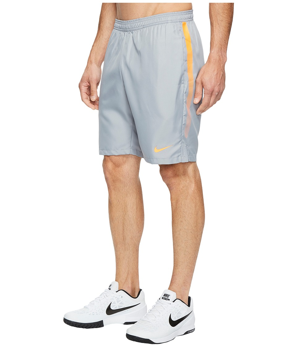 Nike Court Dry 9 Tennis Short (Stealth/Tart/Tart) Men