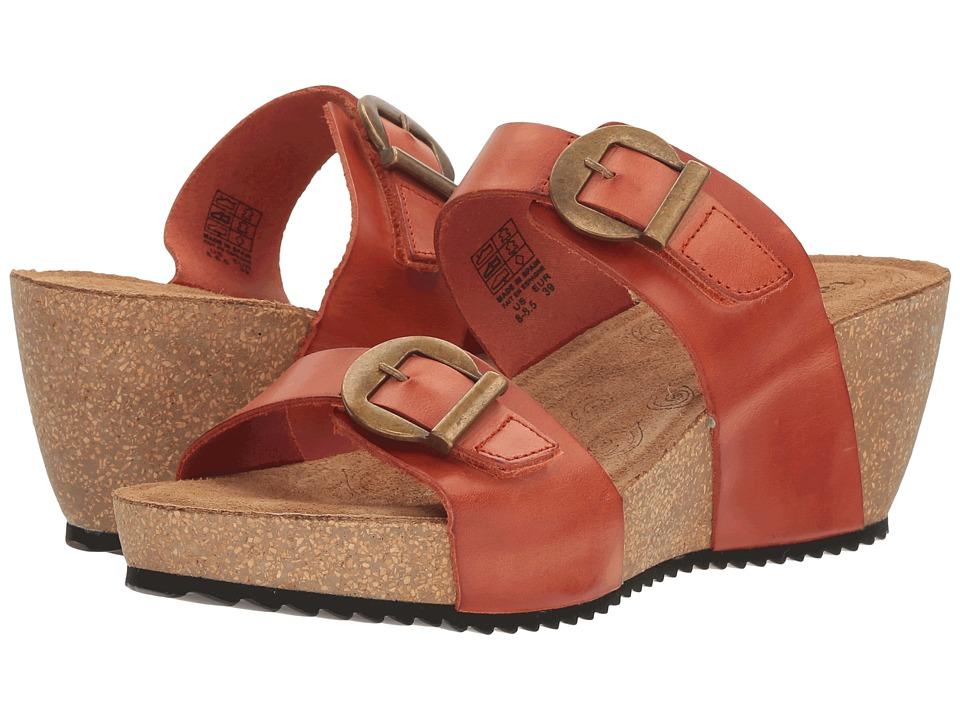 Taos Footwear Anna (Burnt Orange) Women
