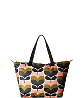 Orla Kiely - Stripe Rosebud Zip Shopper