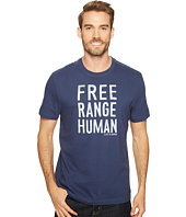 Life is good - Free Range Human Crusher Tee