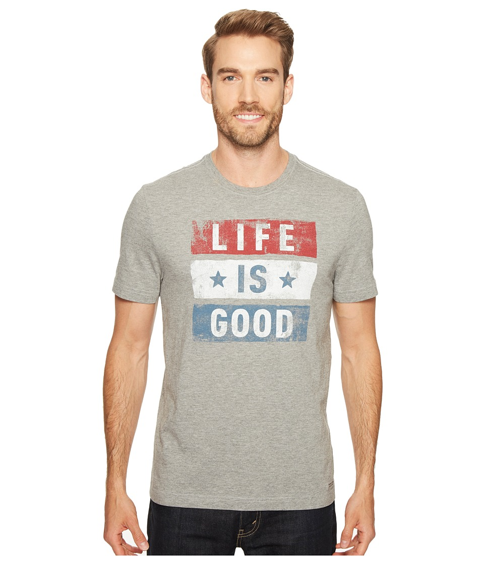 Life is Good Life is Good - Stars Stripes Crusher Tee
