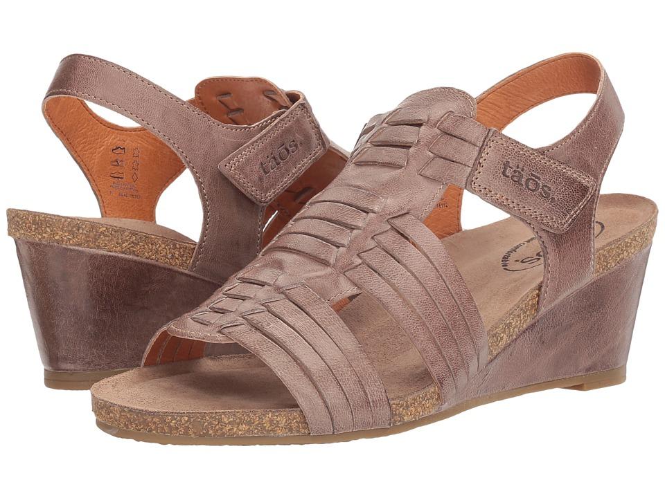 Taos Footwear Tradition (Dark Taupe) Women