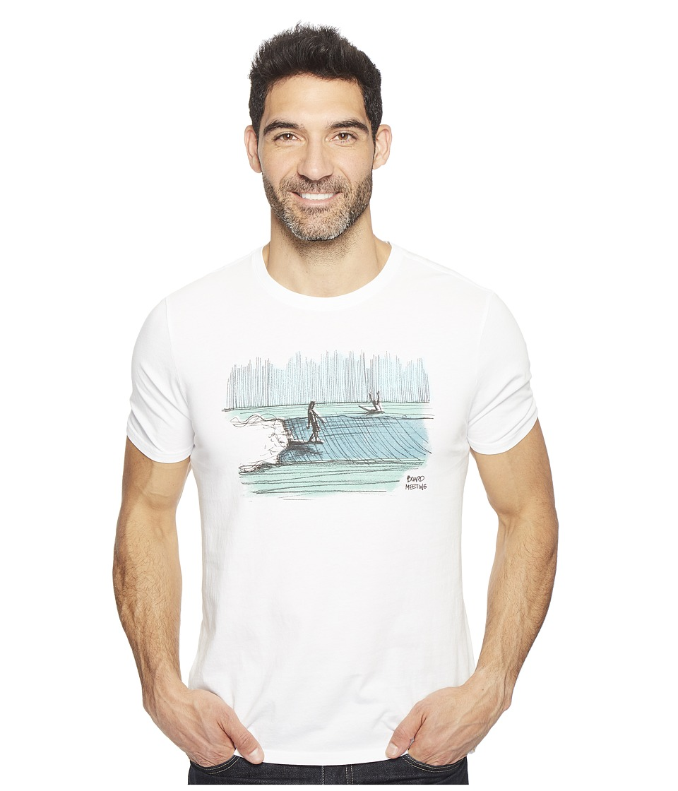Life is good Board Meeting Smooth Tee (Cloud White) Men