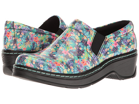 Klogs Footwear Naples - Mini Floral Patent