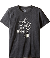 Life is good Kids - Wheelie Bike Cool Tee (Little Kids/Big Kids)